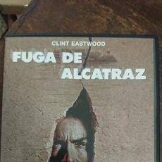 Cine: FUGA DE ALCATRAZ - DON SIEGEL - CLINT EASTWOOD, PATRICK MCGOOHAN - PARAMOUNT 2000. Lote 289296298