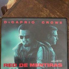 Cine: RED DE MENTIRAS - RIDLEY SCOTT - LEONARDO DICAPRIO, RUSSELL CROWE - WARNER. Lote 289305973