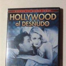 Cine: HOLLYWOOD AL DESNUDO - DE GEORGE CUKOR - DVD. Lote 289335543