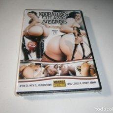 Cine: PACK 5 CINE ADULTO DVD ADORABLES CULAZOS NEGROS NUEVO PRECINTADO. Lote 289336538