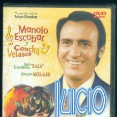 Cine: DVD JUICIO DE FALDAS - MANOLO ESCOBAR CONCHA VELASCO GRACITA MORALES PRECINTADA. Lote 289336823