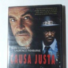Cine: CAUSA JUSTA - SEAN CONNERY - DVD NUEVO PRECINTADO. Lote 289337048