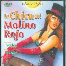 Cine: DVD LA CHICA DEL MOLINO ROJO - MARISOL MEL FERRER SILVIA TORTOSA PRECINTADA. Lote 289337388