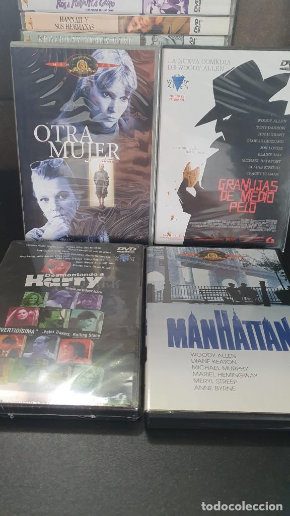Cine: LOTE DE 23 PELICULAS DE DVD WOODY ALLEN, EN PERFECTO ESTADO. - Foto 2 - 289420998