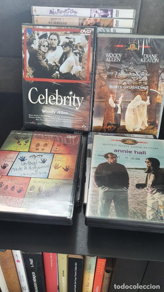 Cine: LOTE DE 23 PELICULAS DE DVD WOODY ALLEN, EN PERFECTO ESTADO. - Foto 3 - 289420998
