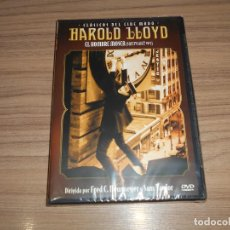 Cine: EL HOMBRE MOSCA 1923 DVD HAROLD LLOYD NUEVA PRECINTADA. Lote 289499408