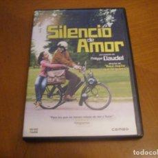 Cine: SILENCIO DE AMOR - PHILIPPE CLAUDEL. Lote 289516998