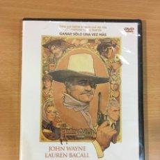 Cine: DVD CINE DEL OESTE WESTERN - EL ÚLTIMO PISTOLERO (1976), CON JOHN WAYNE Y LAUREN BACALL. PRECINTADO. Lote 289518028