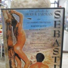 Cine: SEBASTIAN - SEBASTIANE - UN FILM DE DEREK JARMAN - DVD. Lote 289569878