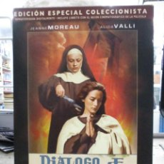 Cine: DIALOGO DE CARMELITAS - JEANNE MOREAU - ESPECIAL COLECCIONISTA CON LIBRO - DVD. Lote 289570218