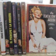 Cine: COLECCION MARILYN MONROE - TODOS SU CLASICOS - 8 PELICULAS - TIENES FOTOS DE TODAS - DVD. Lote 289571363