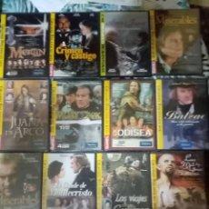 Cine: GRANDES RELATOS EN DVD (12 DVDS). Lote 289631868
