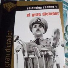 Cine: EL GRAN DICTADOR -DVD. Lote 289632348