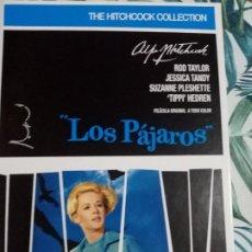 Cine: LOS PAJAROS -DVD. Lote 289632673