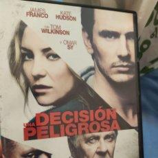 Cine: DVD DECISIÓN PELIGROSA. Lote 289759863