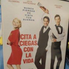Cine: DVD CITA A CIEGAS CON LA VIDA. Lote 289760353
