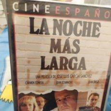 Cine: DVD LA NOCHE MÁS LARGA. Lote 289761238