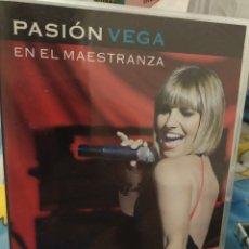 Cine: DVD PASION VEGA EN EL MAESTRANZA. Lote 289761283