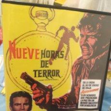 Cine: DVD NUEVE HORAS DE TERROR. Lote 289761518
