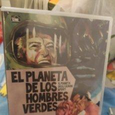 Cine: DVD EL PLANETA DE LOS HOMBRES VERDES. Lote 289761568