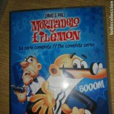Cine: MORTADELO Y FILEMON. 5 DVD. SERIE COMPLETA. Lote 289870203
