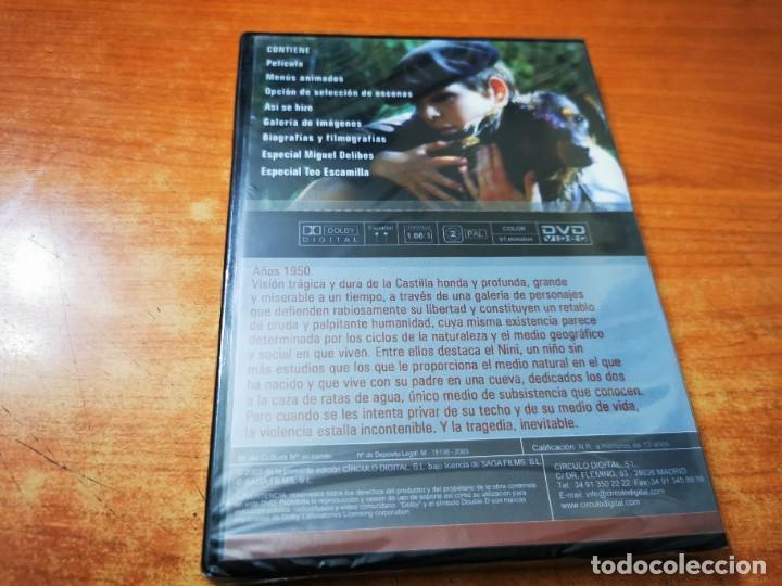 Cine: LAS RATAS OBRA DE MIGUEL DELIBES DVD PRECINTADO 2003 ESPAÑA ALVARO MONJE JOSE CARIDE - Foto 2 - 289888048
