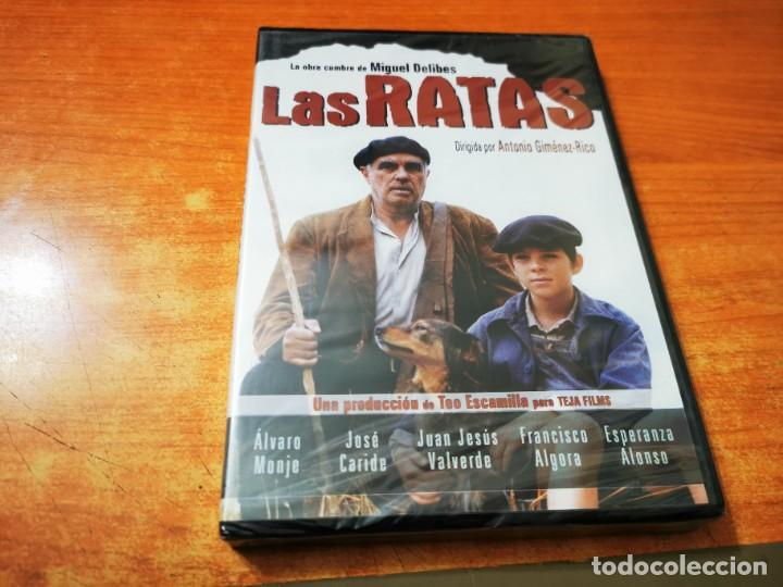LAS RATAS OBRA DE MIGUEL DELIBES DVD PRECINTADO 2003 ESPAÑA ALVARO MONJE JOSE CARIDE (Cine - Películas - DVD)