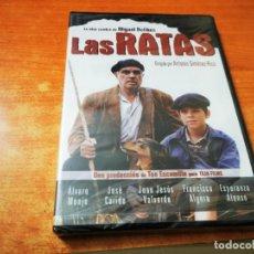 Cine: LAS RATAS OBRA DE MIGUEL DELIBES DVD PRECINTADO 2003 ESPAÑA ALVARO MONJE JOSE CARIDE. Lote 289888048