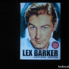 Cine: LEX BARKER SU COLECCION DE AVENTURAS Y WESTERN 6 DISCOS - DVD COMO NUEVOS. Lote 289902463
