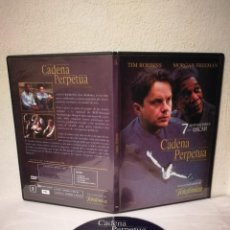 Cine: DVD ORIGINAL - CADENA PERPETUA - VARIOS - MORGAN FREEMAN - TIM ROBBINS. Lote 289936738