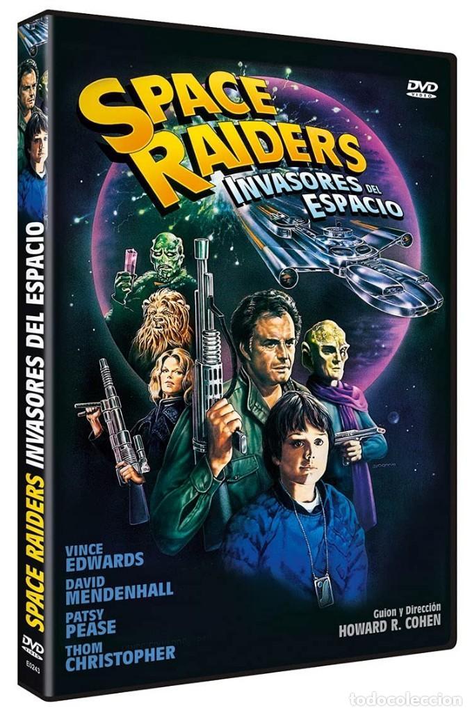 SPACE RAIDERS (INVASORES DEL ESPACIO) - DVD PRECINTADO Y CLASICO OCHENTERO DE HOWARD R. COHEN (Cine - Películas - DVD)