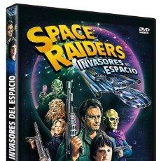 Cine: SPACE RAIDERS (INVASORES DEL ESPACIO) - DVD PRECINTADO Y CLASICO OCHENTERO DE HOWARD R. COHEN. Lote 290103538