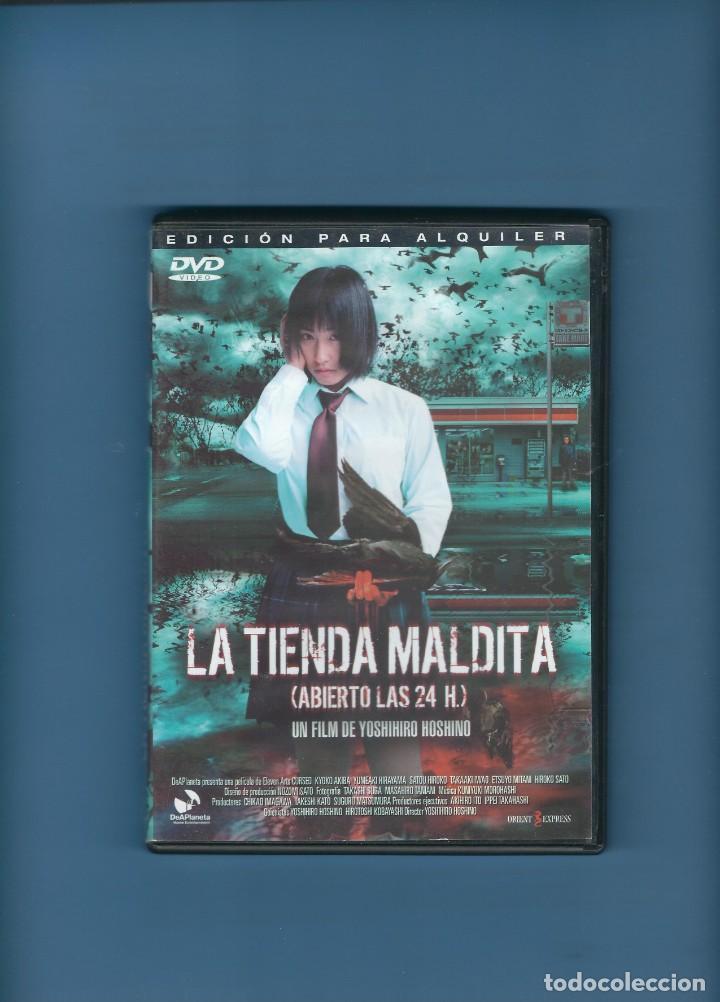 DVD - LA TIENDA MALDITA - TERROR (Cine - Películas - DVD)