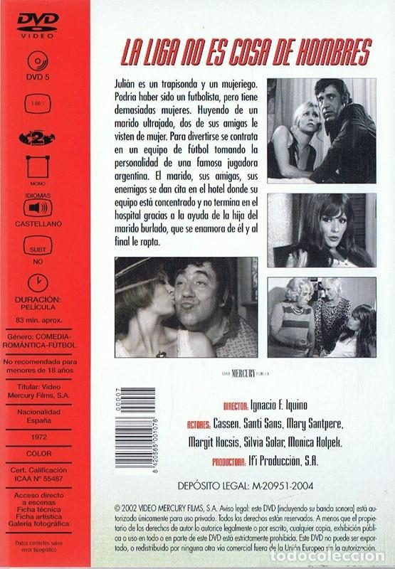 Cine: LA LIGA NO ES COSA DE HOMBRES MARY SANTPERE - Foto 2 - 290104608