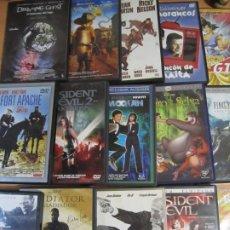 Cine: LOTE 15 DVD VARIOS GLADIATOR DRAGON BALL FINAL FANTASY RIO BRAVO RESIDENT EVIL. Lote 290277858