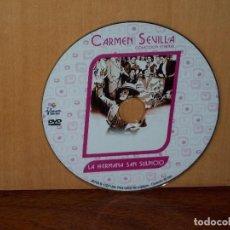 Cine: LA HERMANA SAN SULPICIO - CARMEN SEVILLA - SOLO DVD COMO NUEVO, SIN NADA MAS. Lote 291456958