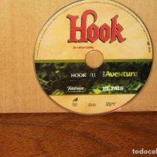 Cine: HOOK EL CAPITAN GARFIO - SOLO CD , SIN NADA MAS EDICION EL PAIS. Lote 291457178