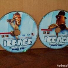Cine: ICE AGE - LA EDAD DE HIELO - DOBLE DVD , SIN NADA MAS. Lote 291457303