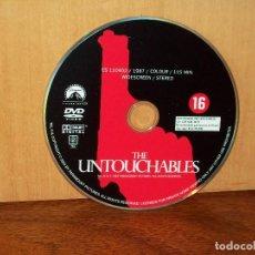 Cine: LOS INTOCABLES - SOLO DVD DURACION 115 MINUTOS Y NADA MAS. Lote 291502343