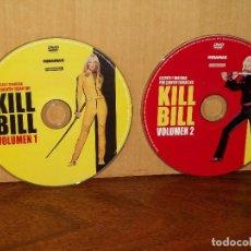 Cine: KILL BILL VOLUMEN 1 Y 2 - UMA THURMAN - DIRIGIDA POR TARANTINO - DOBLE DVD Y NADA MAS. Lote 291503758