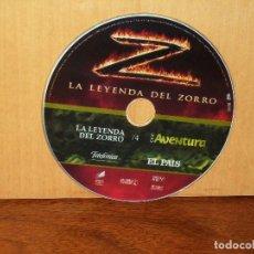 Cine: LA LEYENDA DEL ZORRO - SOLO DVD SIN NADA MAS EDICION PERIODICO. Lote 291837443