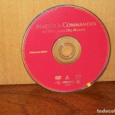 Cine: MASTER & COMMANDER / AL OTRO LADO DEL MUNDO - SOLO DVD SIN NADA MAS. Lote 291838443