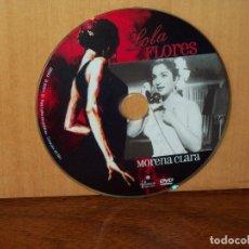 Cine: MORENA CLARA - LOLA FLORES - SOLO DVD SIN NADA MAS. Lote 291839533