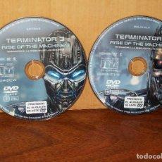 Cine: TERMINATOR 3 LA REBELION DE LAS MAQUINAS - SOLO DOBLE DVD Y NADA MAS COMO NUEVO. Lote 291862648