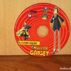Cine: EL ULTIMO CASO DEL INSPECTOR AGDGET - SOLO DVD Y NADA MAS. Lote 291862958