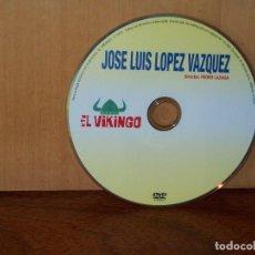 Cine: EL VIKINGO - JOSE LUIS LOPEZ VAZQUEZ - SOLO DVD Y NADA MAS. Lote 291863243