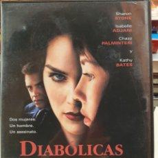 Cine: DIABÓLICAS (DIABOLIQUE) // SHARON STONE / ISABELLE ADJANI / CHAZZ PALMINTERI / KATHY BATES. Lote 292290613