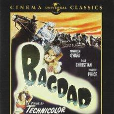 Cine: BAGDAD (1949) DESCATALOGADA. Lote 292947858