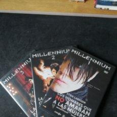 Cine: MILLENNIUM TRILOGIA 2011 2 Y 3 PRECINTADAS. Lote 293226908