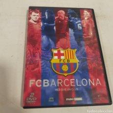 Cinema: D 4331 FC BARCELONA MES QUE UN CLUB -DVD SEGUNDA MANO. Lote 293369738